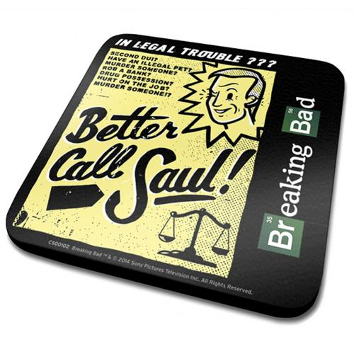 Breaking Bad Single Coaster Saul