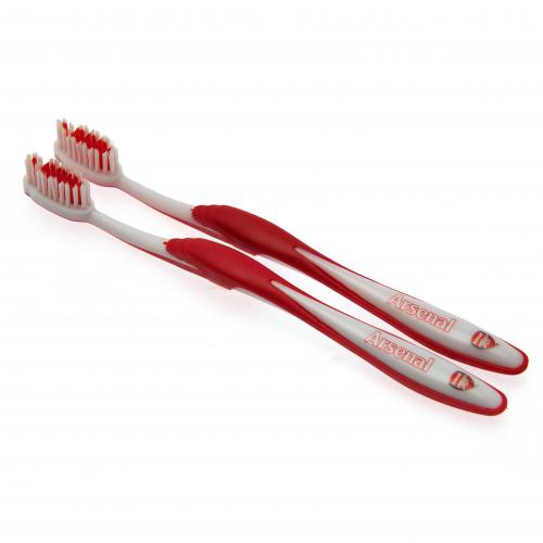 Arsenal F.C. Twin Pack Toothbrush Adults