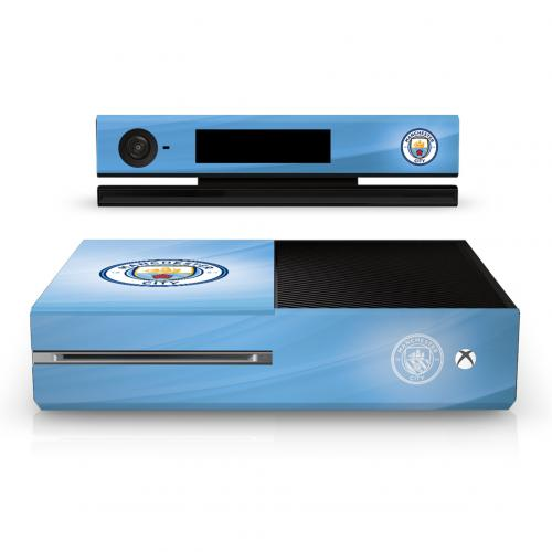 Buy Official Manchester City F.C. Xbox One Console Skin Official Xbox One Console