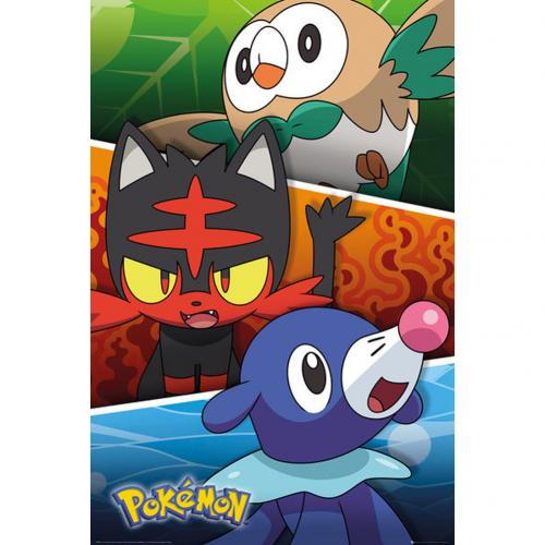 Pokemon Poster Alola Partners 268