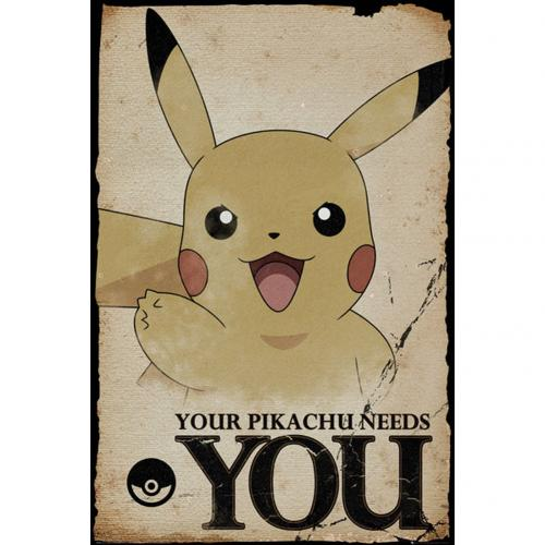 Pokemon Poster Pikachu Needs You 269