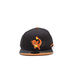 Pokémon - Charmander Rubber Patch Dip Dye Snapback