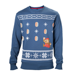 Nintendo - Mario Christmas Sweater blue