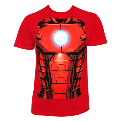 IRON MAN Sublimation Costume Tee Shirt