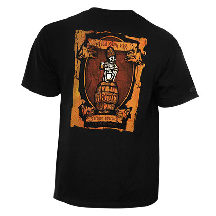 ROGUE ALES Dead Guy Oregon Brewery Tee Shirt