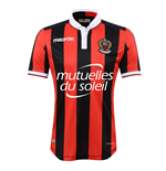 2016-2017 OGC Nice Authentic Home Match Shirt