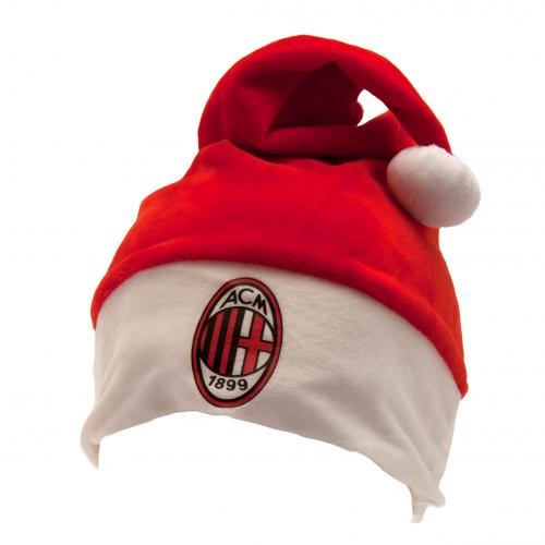 A.C. Milan F.C. Supersoft Santa Hat