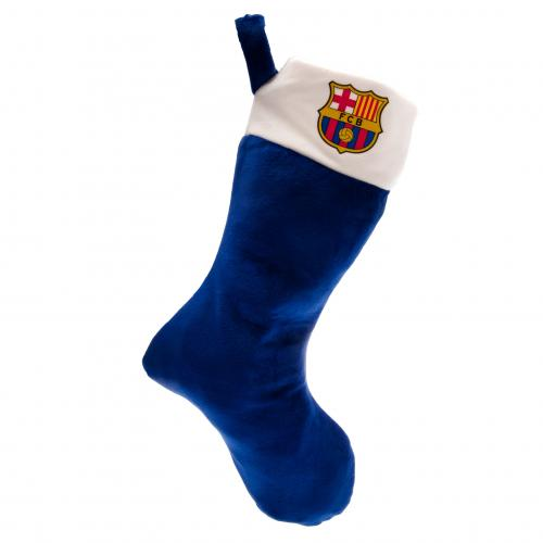 F.C. Barcelona Supersoft Christmas Stocking