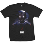 Star Wars Men's Tee: Rogue One K-2SO Prime Force 01