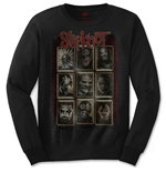 Slipknot Men's Long Sleeved Tee: New Mass