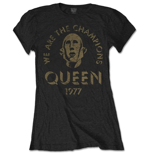 Queen Ladies Tee: We Are The Champions