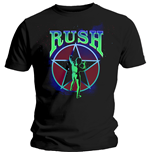 Rush Men's Tee: Starman 2112