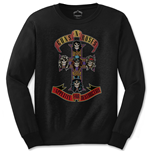 Guns N' Roses Men's Long Sleeved Tee: Appetite for Destruction