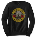 Guns N' Roses Men's Long Sleeved Tee: Bullet