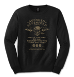 Avenged Sevenfold Men's Long Sleeved Tee: Seize the Day