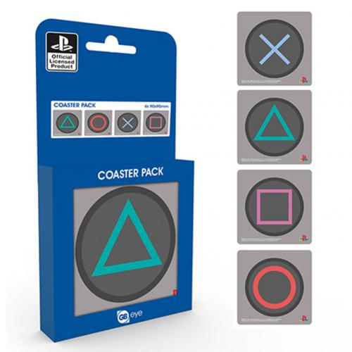 Playstation Coaster Set