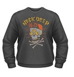 Neck Deep Sweatshirt Skulls