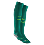 2016-2017 Barcelona Nike Goalkeeper Socks (Lucid Green)