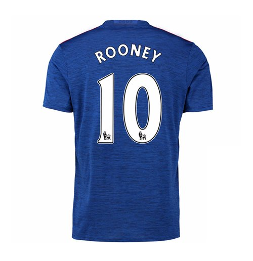 2016-17 Manchester United Away Shirt (Rooney 10)