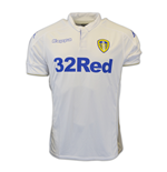 2016-2017 Leeds United Kappa Home Football Shirt