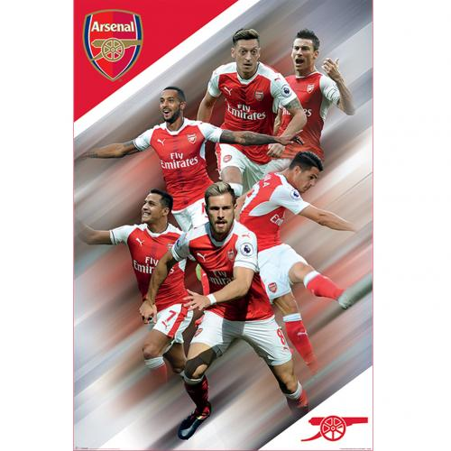 Arsenal F.C. Poster Players 40