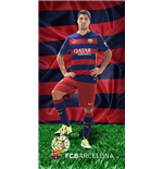 Barcelona FC printed towel BAR185