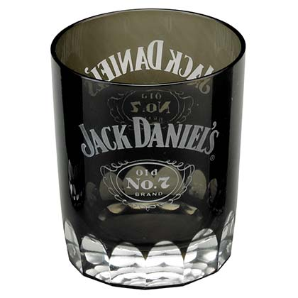 JACK DANIELS Black Double Shot Glass