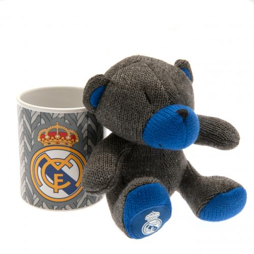 Real Madrid F.C. Mug & Bear Set