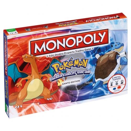 Pokemon Edition Monopoly