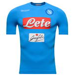 2016-2017 Napoli Kappa Authentic Home Shirt