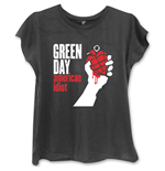 Green Day Women's T-shirt American Idiot