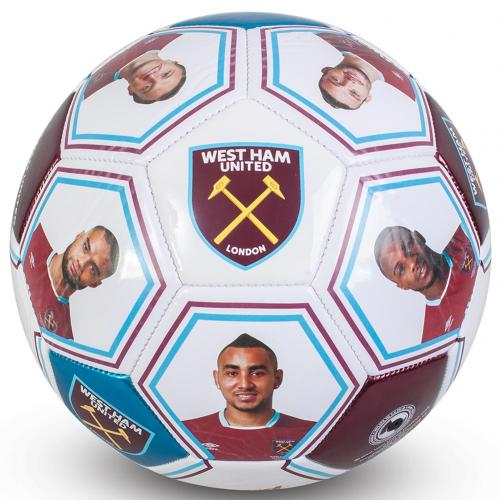 West Ham United F.C. Photo Signature Football