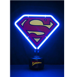DC Comics Neon Light Superman Shield 23 x 24 cm