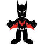 DC Comics Plush Figure Series 2 Batman Beyond 25 cm