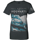 Harry Potter Ladies T-Shirt Hogwarts Express