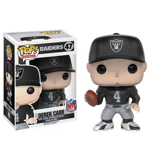 Buy Official Nfl Pop Football Vinyl Figure Derek Carr