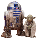Star Wars Episode V ARTFX+ Statue 2-Pack Yoda & R2-D2 Dagobah Version 10 cm