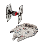 Star Wars Build & Play Model Kit 2-pack with Sound & Light Up Jakku Combat