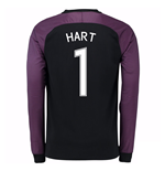 2016-17 England Home Goalkeeper Shirt (Hart 1) - Kids