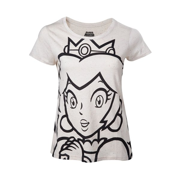Nintendo - Princess Peach Outline Female T-shirt