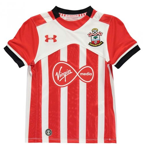 2016-2017 Southampton Home Football Shirt (Kids)