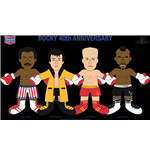 Rocky Plush Figure 40th Anniversary Rocky Gold Robe 25 cm