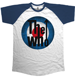 The Who Men's Raglan Tee: Vintage Target
