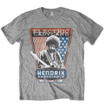 Jimi Hendrix Men's Tee: Electric Ladyland