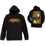 Anthrax Men's Hooded Top: Evil Twin