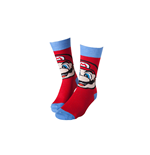 Nintendo - Mario Socks Red With Blue