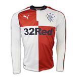 2016-2017 Rangers Away Long Sleeve Shirt