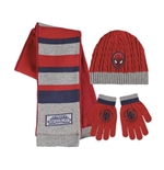 Spiderman Scarf Cap anf Gloves Set