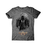 Assassins Creed - T-shirt Men Castle Rock Black Grindle Cover