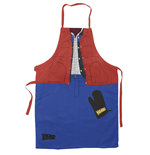 Back to the Future cooking apron with oven mitt Marty McFly
